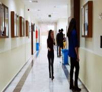 Sınıflarımızın Olduğu Koridorumuz